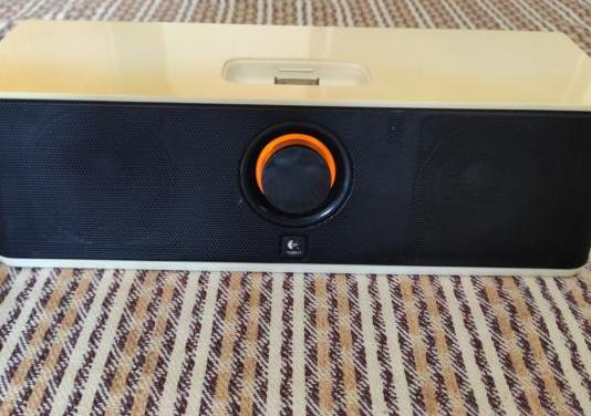 Sistema audio, altavoces ipod, aux, video, logite