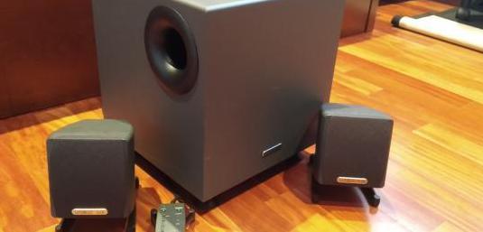Sistema de audio megaworks thx 2.1 250d