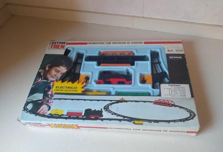 Antiguo tren geyper ref 5134 nuevo no jugado