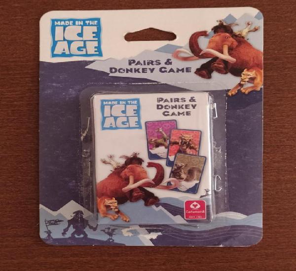 Baraja ice age - juego de cartas infantil - baraja a
