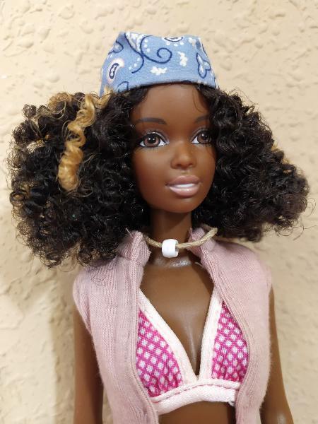 Barbie christie afro