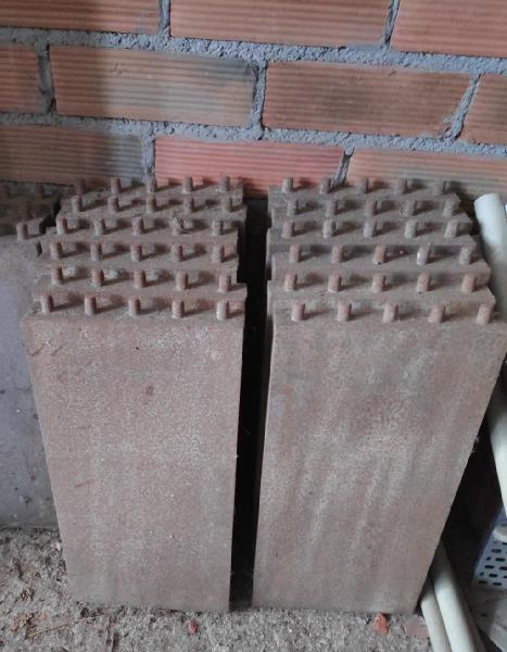 Chapas de encofrar 0,25 cm ó 0,30 cm x 0,50 cm