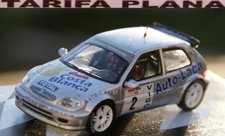 Citroen saxo kit car rallye rias baixas 2003 miguel fuster -