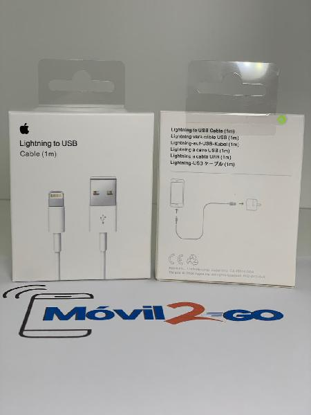 Cable lightning usb apple original certificado 1mt