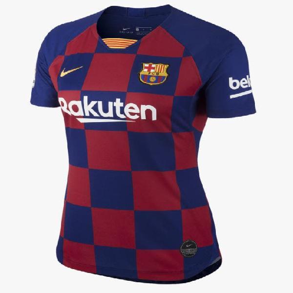 Camiseta oficial fc barcelona 1º equipación mujer