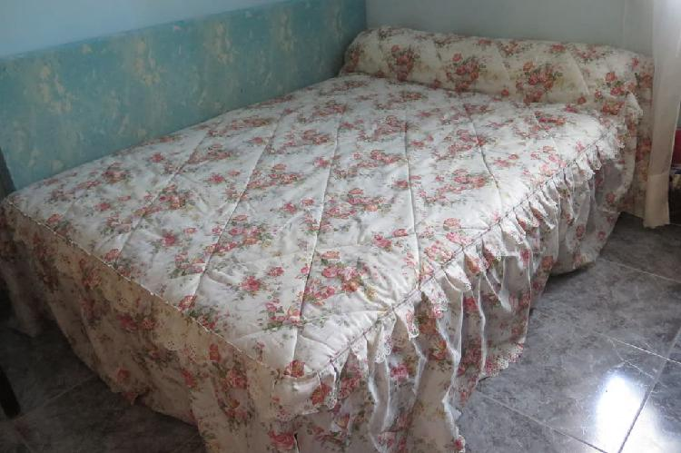 Colcha edredón para cama de 135cm