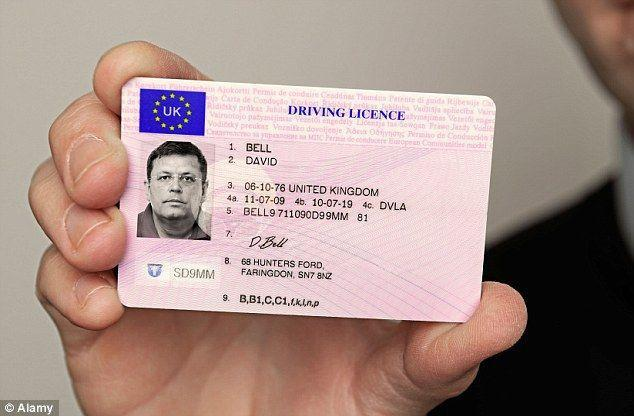 Compre una licencia de conducir real y un pasaporte