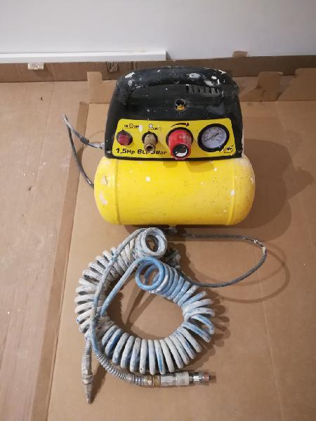 Compresor stanley 1,5 hp - 6 l - 8 bar