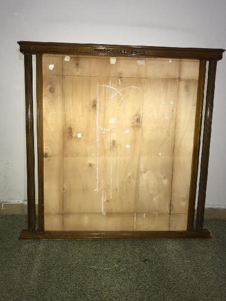 Espejo o marco antiguo de finales de los años 50