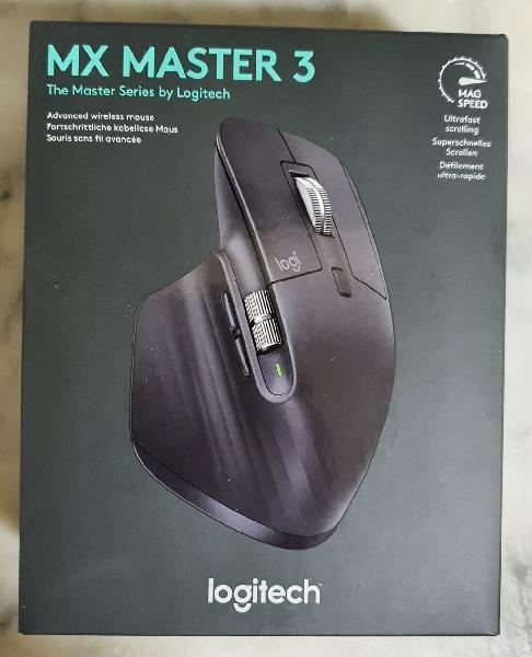 Logitech mx master 3 ratón inalámbrico