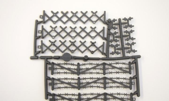 Montaplex accesorios soldaditos - soldados - vallas - valla
