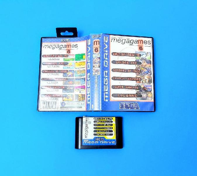 Mega games 6 (sin manual) / mega drive