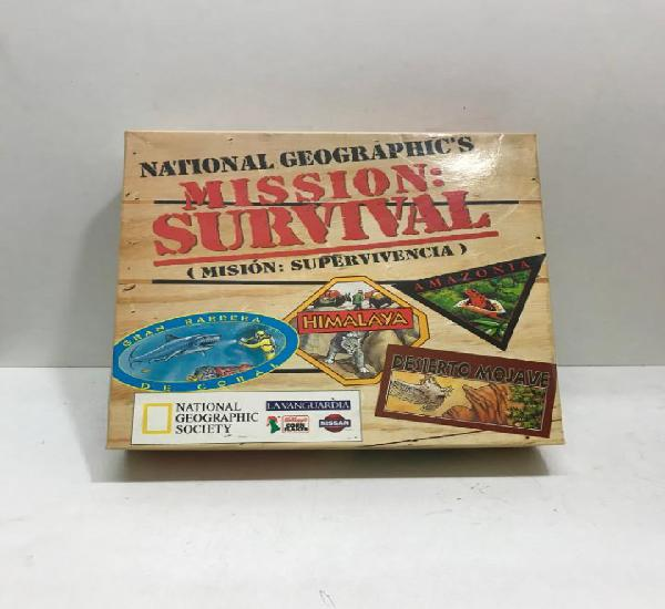 National geographic's mission: survival 1995