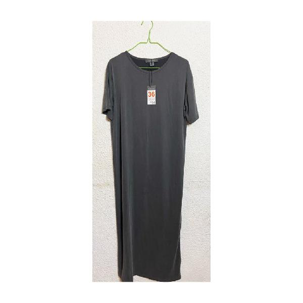New with tags primary long grey dress size s