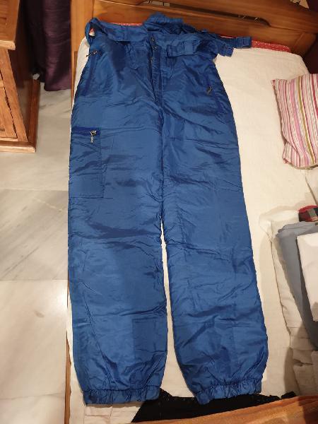 Pantalón para la nieve, azul marino.