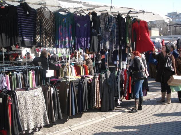 Parada mercado