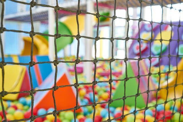 Parque infantil bolas. móstoles