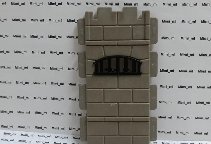 Playmobil 3859 pared piedra castillo medieval steck muro