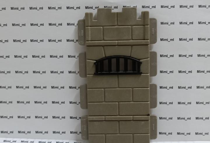 Playmobil 3859 pared piedra muro cárcel pirata prisión