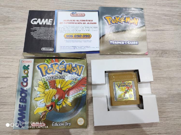 Pokemon oro con precinto original