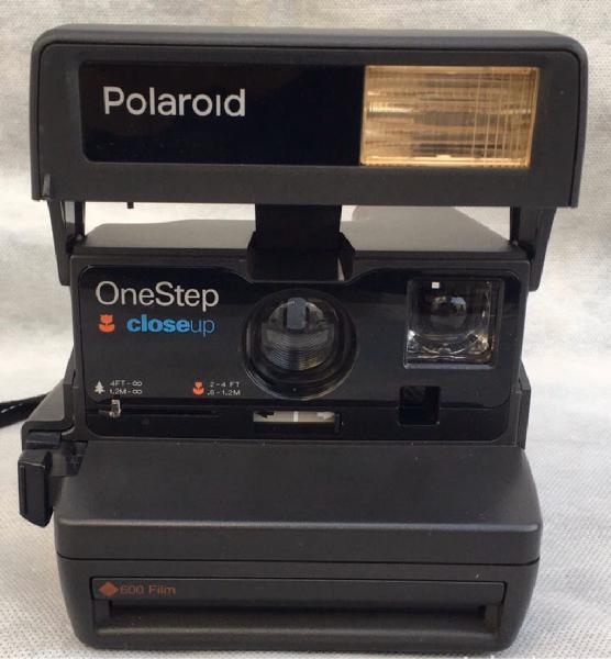 Polaroid close up one step