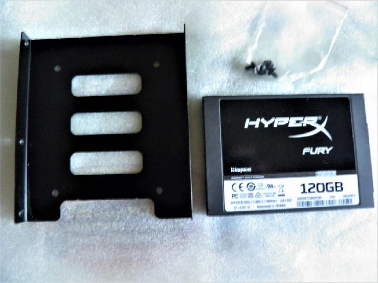 Ssd hyperx fury kingston 120 gb