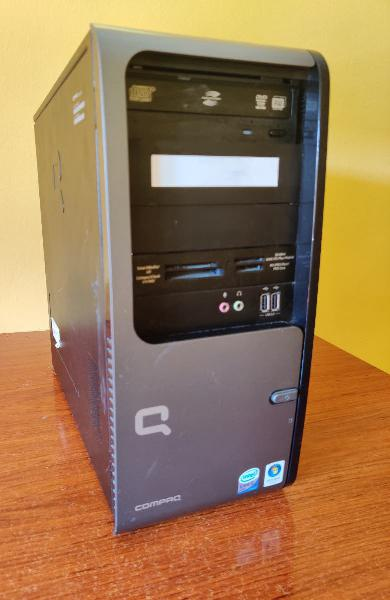 Torre ordenador sobremesa compaq