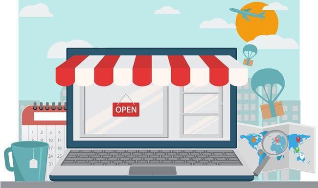 Tienda online 300€
