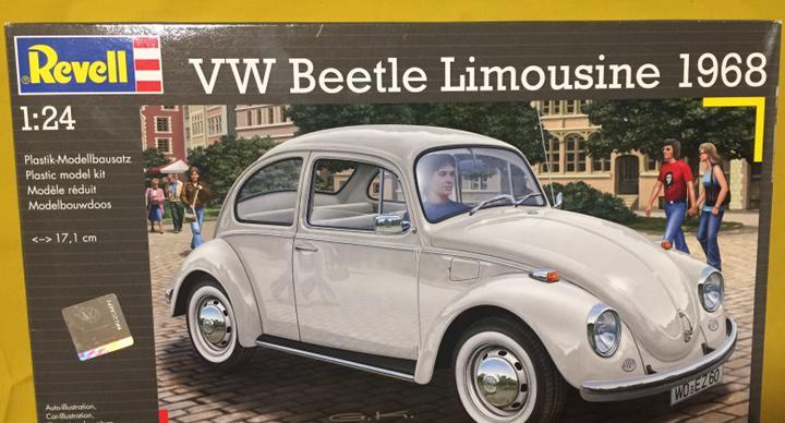 Vw beetle limousine 1968 1:24 revell maqueta coche