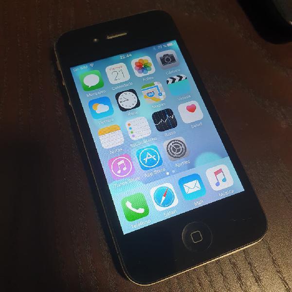 Iphone 4s, 16gb, estado: excelente (ref 013)