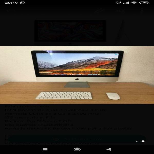 Ltimo modelo i mac 21,5