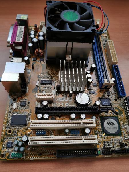 Placa asus + procesador amd sempron 3000+