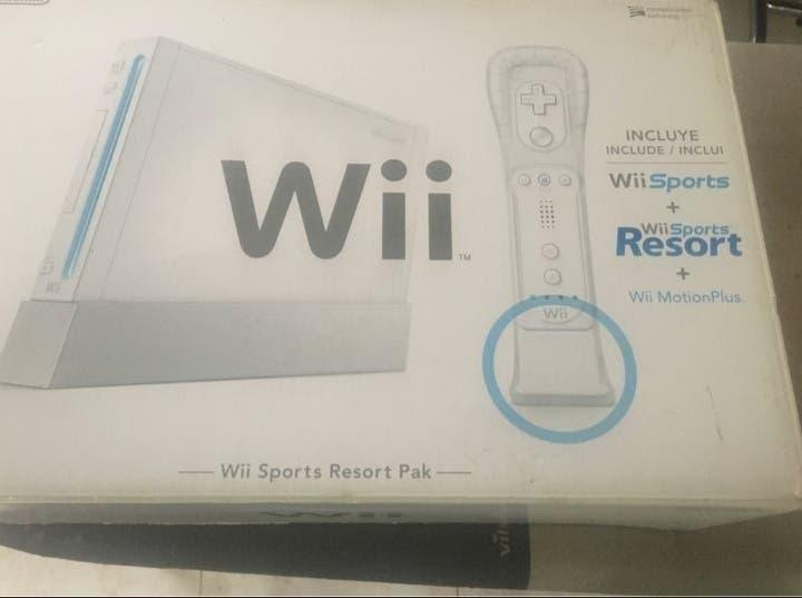 Wii (con garantía)+5 juegos