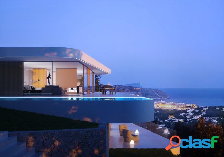 Villa de lujo con vistas panorámicas al mar en Moraira 1