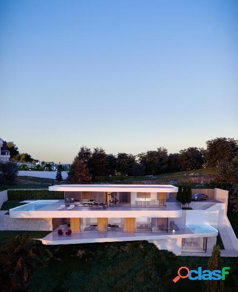 Villa de lujo con vistas panorámicas al mar en Moraira 2