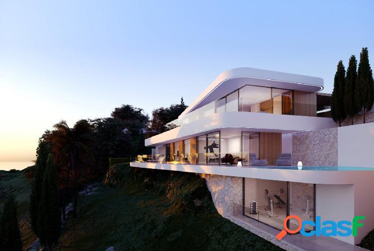 Proyecto - villa de lujo con vistas panorámicas al mar en moraira