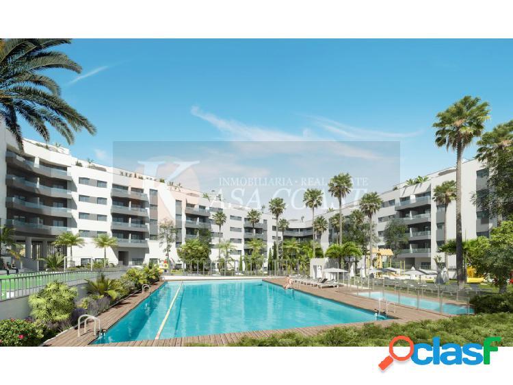 Promoción de 294 viviendas (pisos y áticos) de 2 y 3 dormitorios en las lagunas, mijas costa.