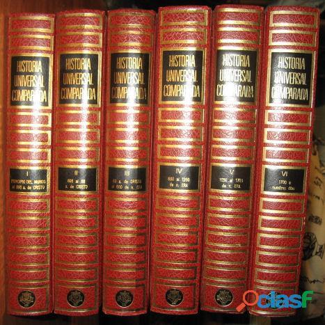 Coleccion libros Historia Universal Comparada 3