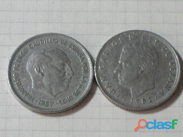 Lote de monedas y billetes antiguos 5