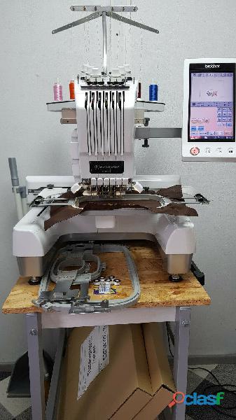 Máquina de bordar brother pr 655e aguja 6