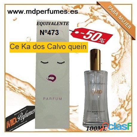 Oferta perfume mujer n473 ce ka dos calvo quein alta gama 100ml 10€