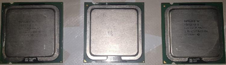 3 procesadores intel pentium d socket 775
