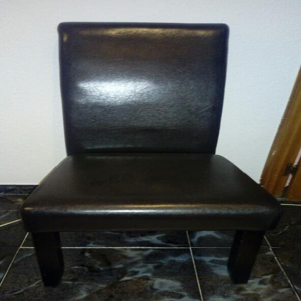 5 sillas salon polipiel elegantes