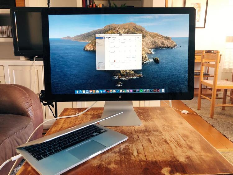 """Apple thunderbolt display 27"""" pantalla / monitor"""
