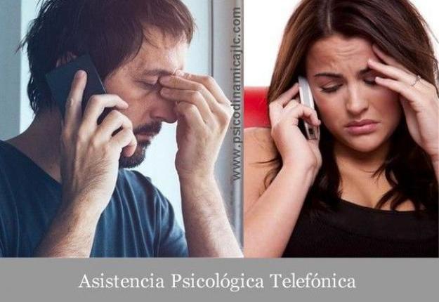 Asistencia psicológica telefónica