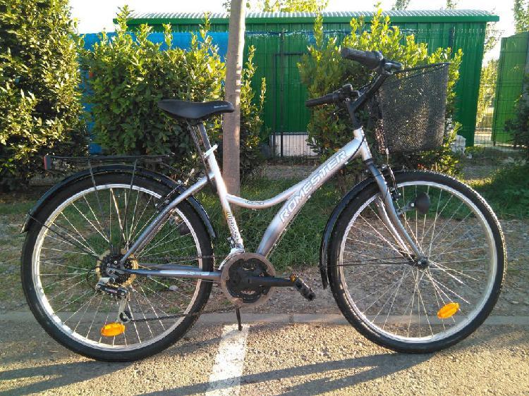 Bicicleta romester urban de paseo mujer, rueda 26