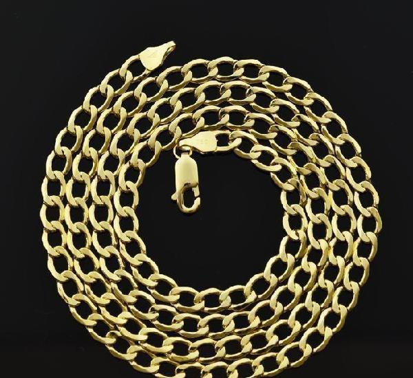 Cadena de oro amarillo de 18k. longitud 55 cm. peso 8.41 g