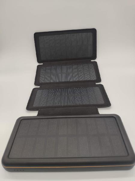 Cargador solar móvil 26800mah 4 paneles solares