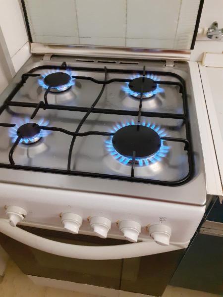 Cocina de gas independiente indesit