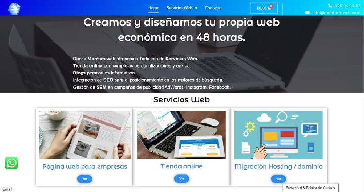 Creamos tu propia página web